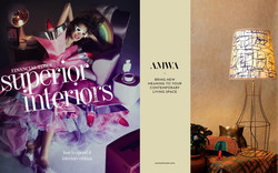 AMWA Designs x The Bespoke Boutique. Financial Times Interiors April 2016_