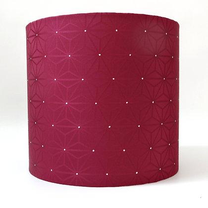Geometric vintage lampshade