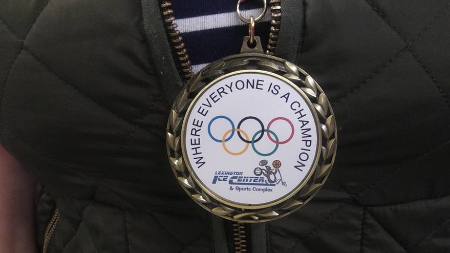 Our Olympic Day at Lexington Ice Center