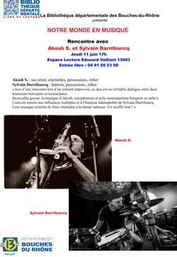 Sylvain Darrifourcq + Akosh S.