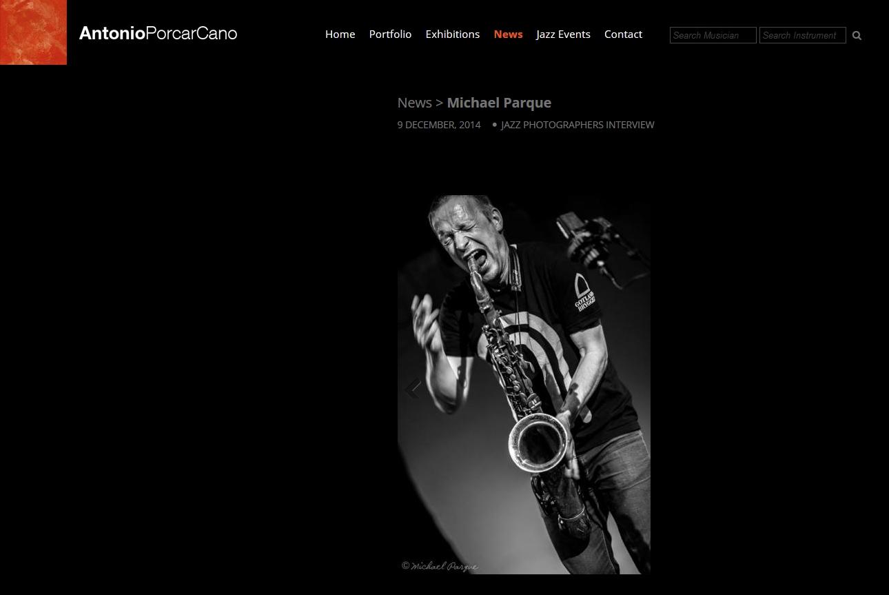 Interview by Antonio Porcar Cano