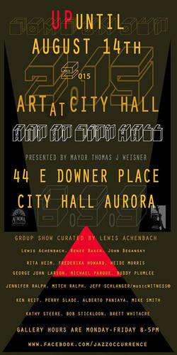 Aurora City Hall exhibit