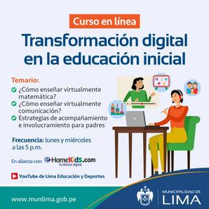 Transformación digital en la educación inicial