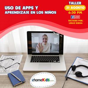 Uso de apps y aprendizaje en niños