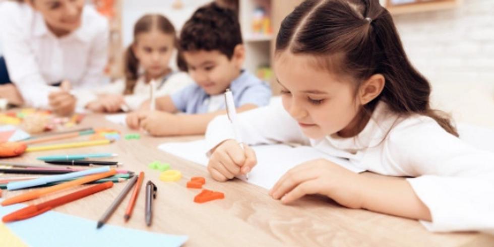 ¿Cómo escribe el niño de 3 a 5 años?