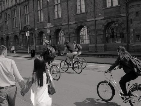 Cambridge Has So Many Bikes