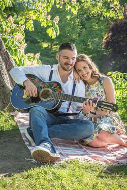 Engagement session washington park
