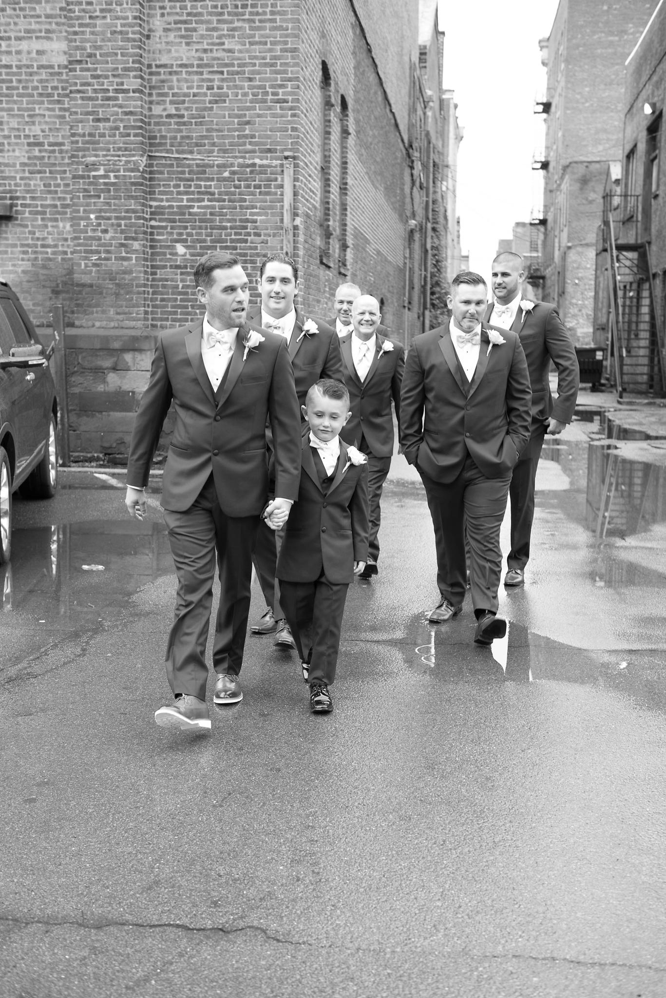 Troy NY groomsmen