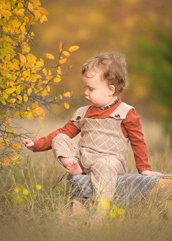 Fall child image