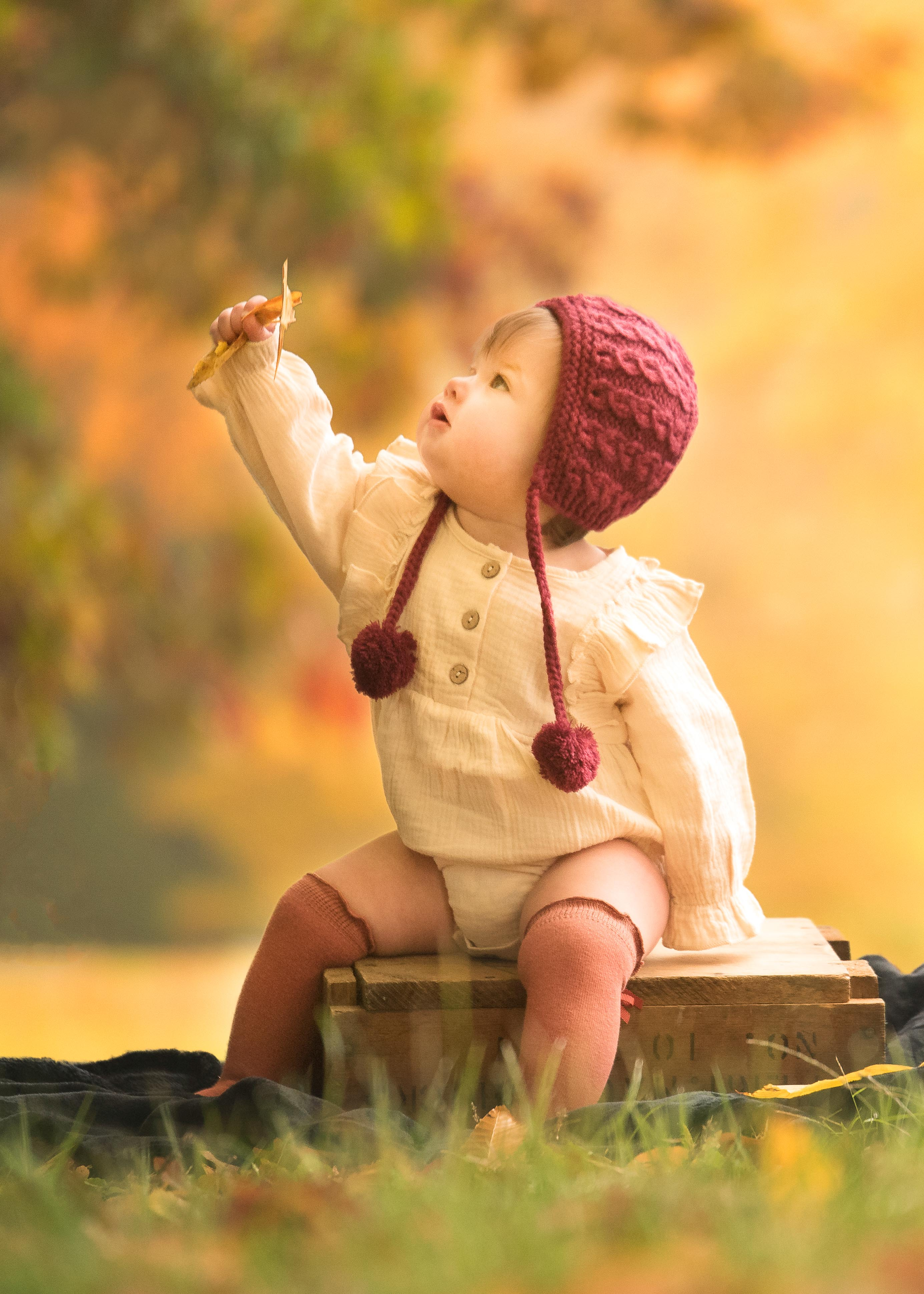 Toddler fine art photography