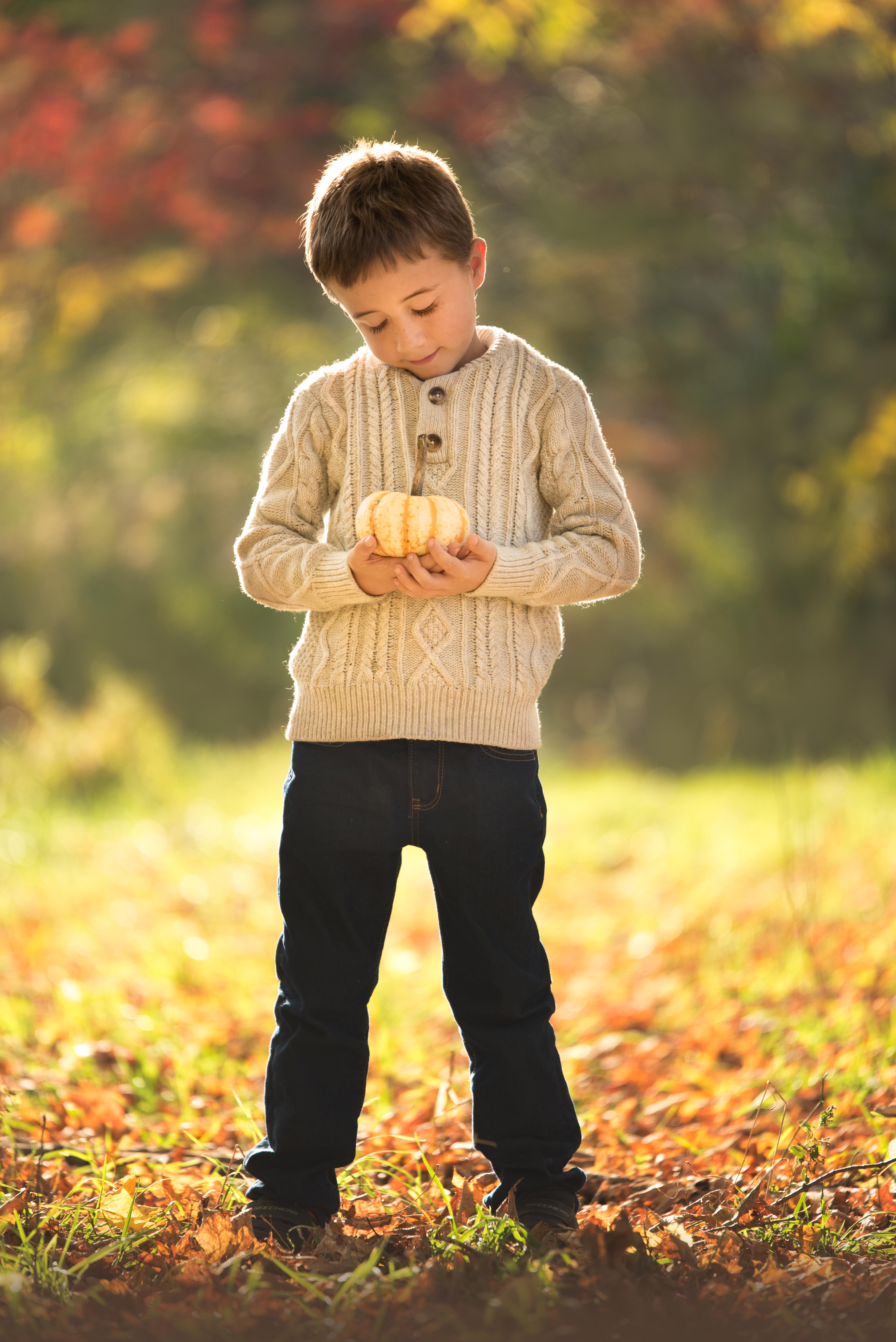 Pumpkin Patch Fall Kids Photos