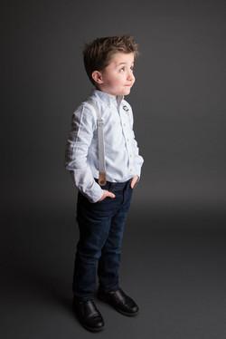 Simple portrait of child