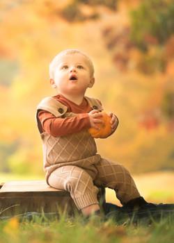 little pumpkin child photography