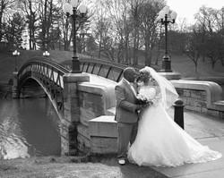 classic bridge wedding