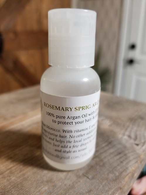 Rosemary Sprig Argan Oil
