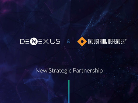 DeNexus and Industrial Defender announce Strategic Partnership