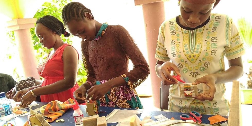 Atelier de production de savon bio