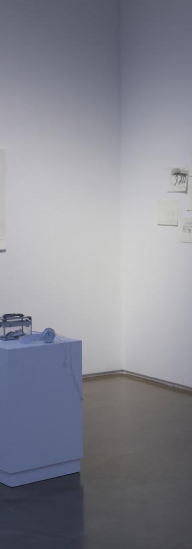 김미련, 272번의 인터뷰 / 가변크기 / 드로잉, 탁본, 사진프린트, 사운드설치 / 2019 외