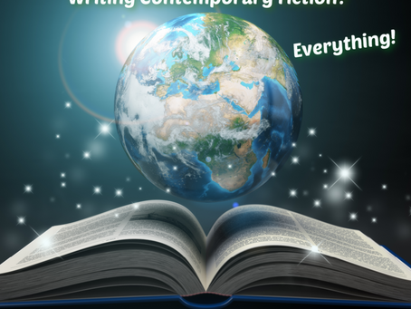 What's World Building Got to Do with Writing Contemporary Fiction? Everything!