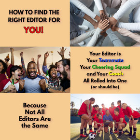 How to Find the Right Editor for YOU