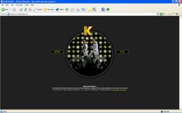 """האתר הרשמי של להקת """"קיי ברזרס"""""""