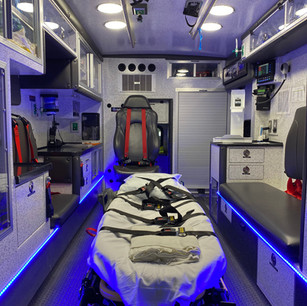 An overview of our patient compartment.