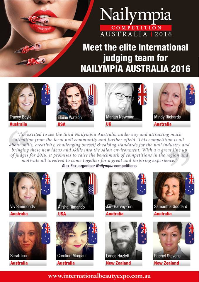 Judges - Nailympia Australia 2016