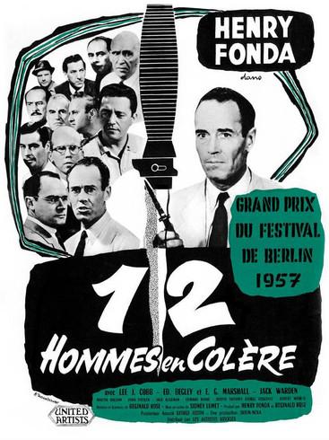 12 hommes en colère |1957 | Film complet en français