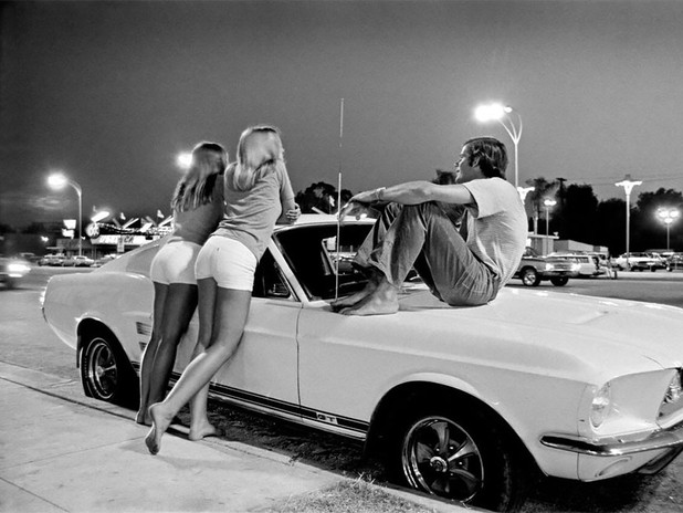 RICK McCLOSKEY: VAN NUYS BOUVEVARD, LOS ANGELES, 1972
