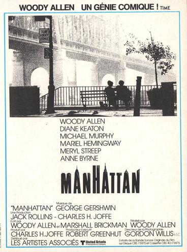 Manhattan |1979 | Film complet en fran