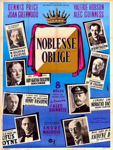Noblesse oblige |1949 | Film complet en français