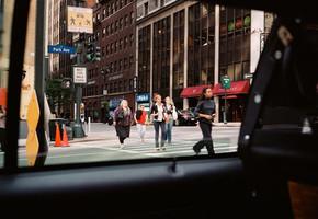 PAUL MURPHY: A NEW YORK TAXI RIDE, UN ANGLE PARTICULIER