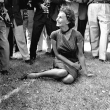 Pictures of Sophia Loren at the Venice Film Festival in 1958