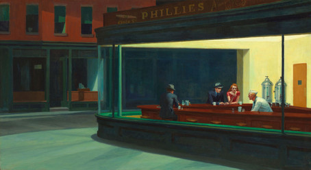 Edward Hopper - Nighthawks (1942)