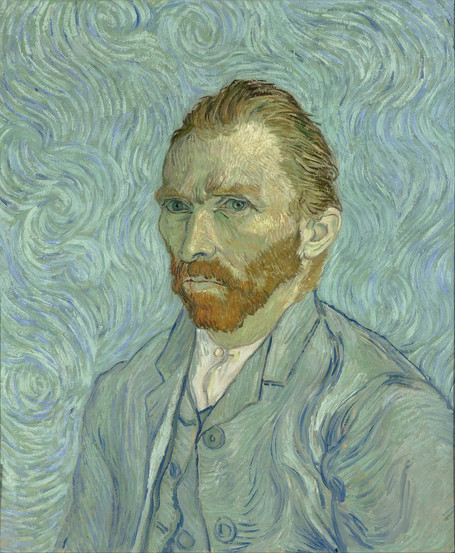 Vincent Van Gogh - Self Portrait (1889)