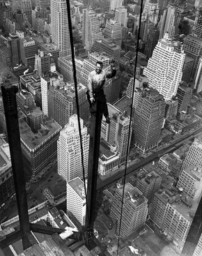 EMPIRE STATE BUILDING: PHOTOS DURING ITS CONSTRUCTION