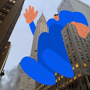 ALVA SKOG: ON TOP OF THE WORLD, LES GEANTS COLORES DE NEW YORK