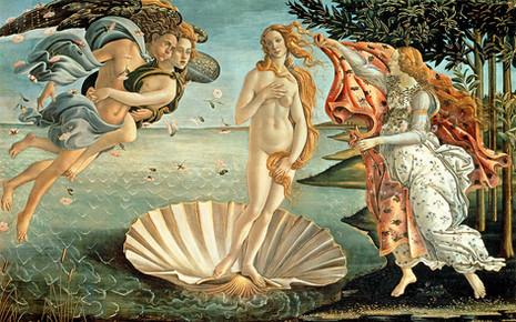 Sandro Botticelli - The Birth of Venus (1485)