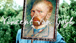 ART FRAME DESIGN: VINCENT VAN GOGH BY MIKESHAKE CREATIVE STUDIO