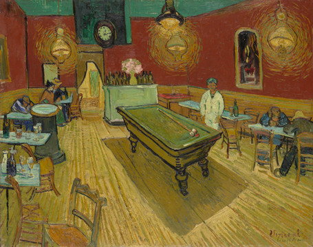 Vincent Van Gogh - The Night Café (1888)