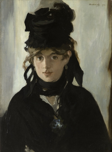 Edouard Manet - Berthe Morisot With a Bouquet of Violets (1872)