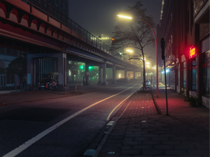 MARK BROYER: WHAT'S THE FOG, HAMBOURG LA NUIT