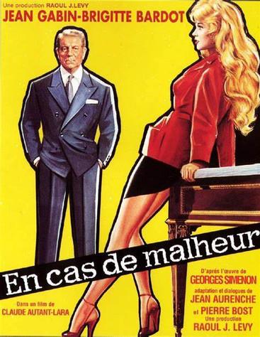 En cas de malheur |1958 | Film complet en français