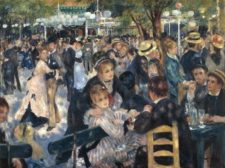 Pierre-Auguste Renoir - Le Moulin de la Galette (1876)