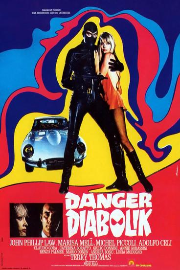 Danger : Diabolik ! |1968 | Film complet en français