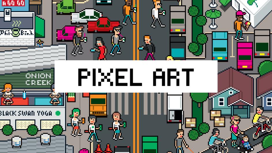 Mikeshake Pixel Art Retrospective