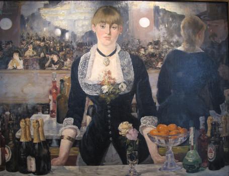 Edouard Manet - Un Bar aux Folies Bergère (1882)