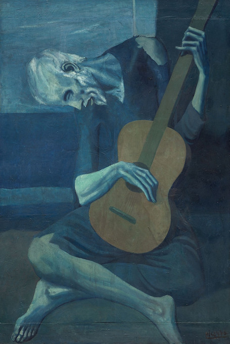 Pablo Picasso - The Old Guitarist (1903)