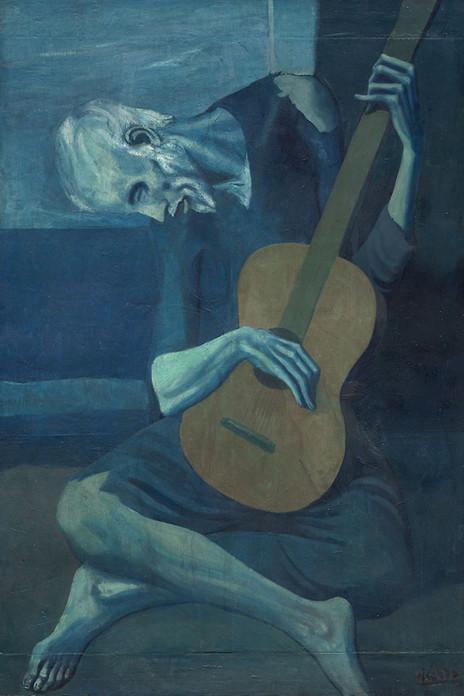 Pablo Picasso - The Old Guitarist (1903)