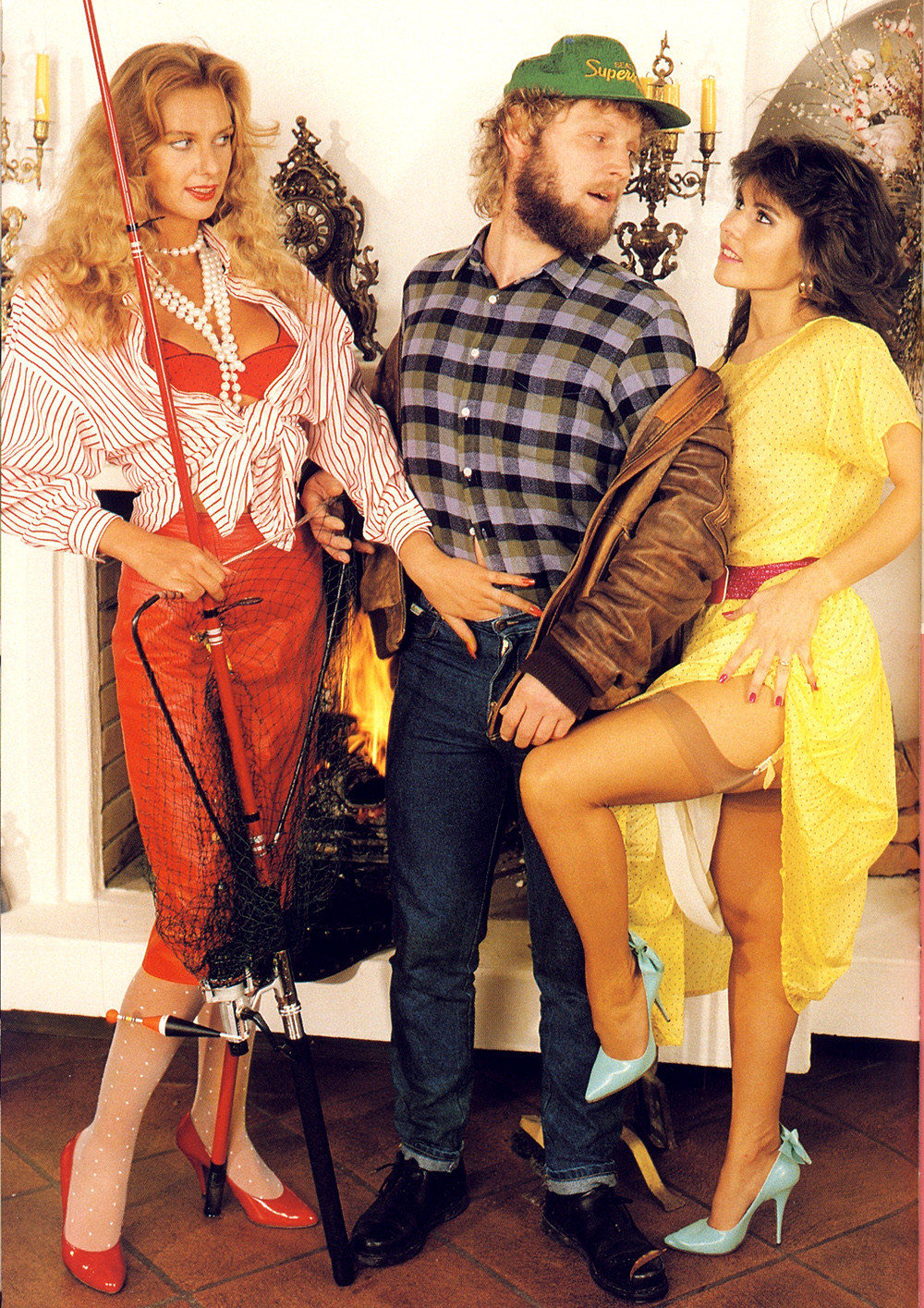 80S Style Porn vintage porn fashion : la mode 80s des magazines pour adultes